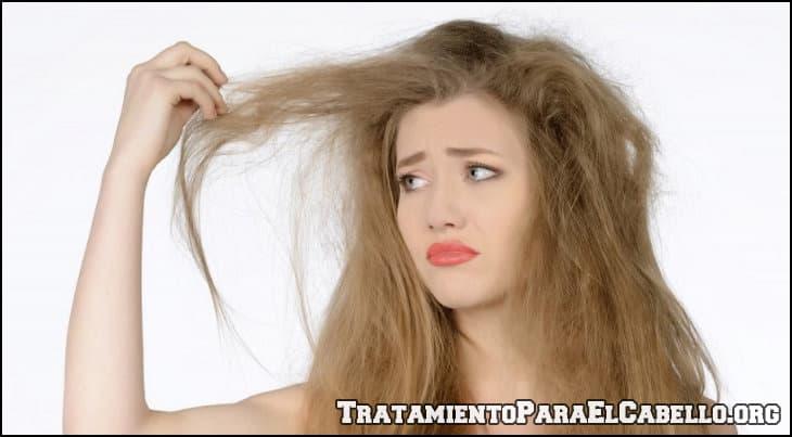 Como tratamiento al cabello maltratado y seco
