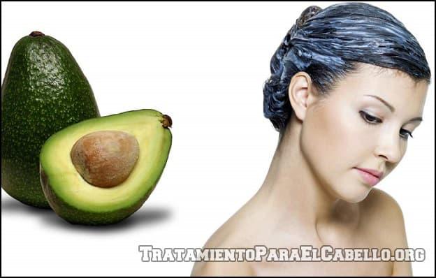 Mascarilla de aguacate para el cabello graso
