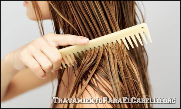 Miel para alisar el pelo