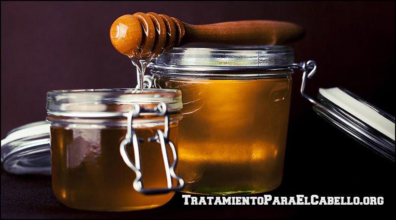 Mascarilla de miel para el cabello