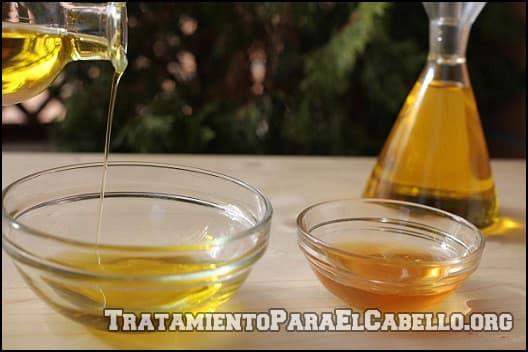 Miel y aceite de oliva para aclarar el cabello