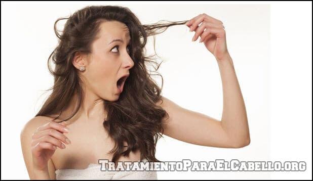 Vinagre de manzana para el cabello maltratado