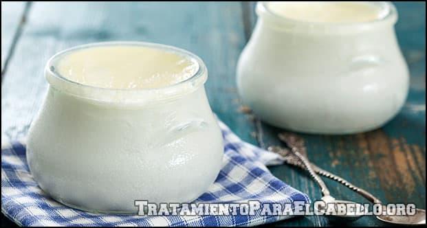 Para qué sirve la mascarilla de yogurt para el pelo