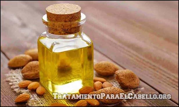 Aceite de almendras para la caida del pelo