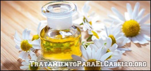 Aceite de manzanilla para el cabello