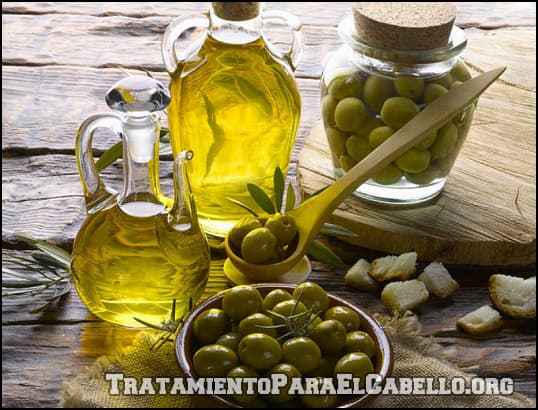 Aceite de oliva para la caída del pelo en hombres