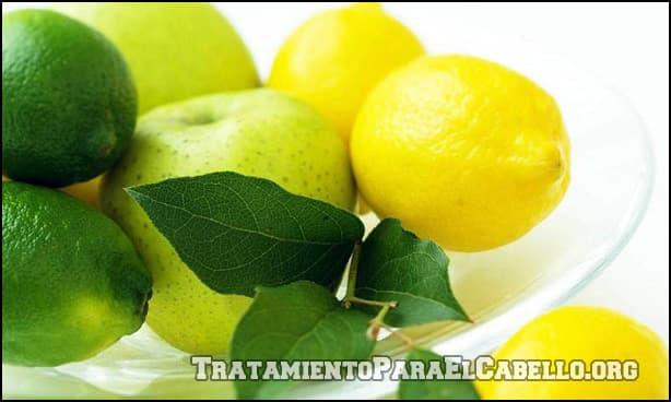 Condiciones habituales para las que se usa el limón en la cabellera