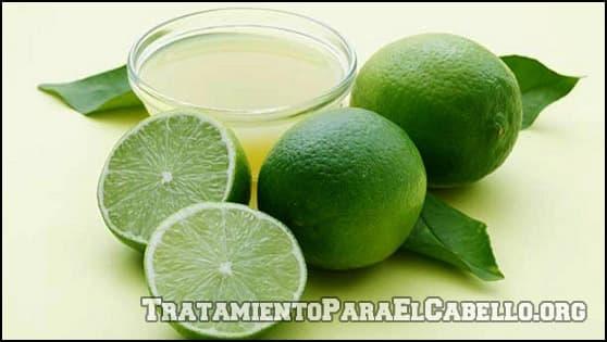 Limón para aclarar la melena