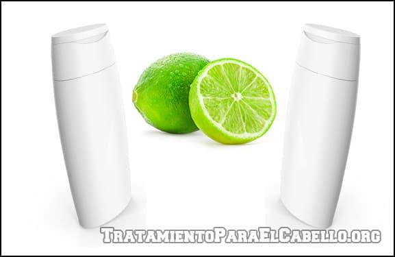 Shampoo de limón casero