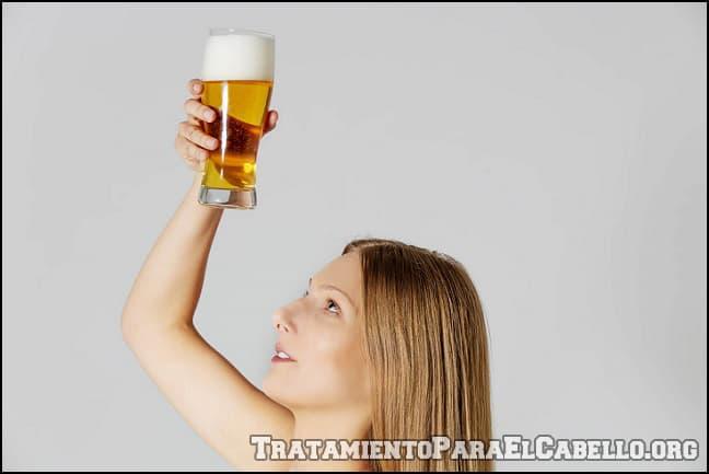 Beneficios de la cerveza para el cabello