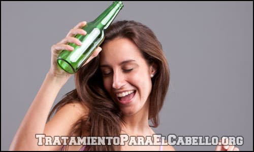 Cerveza para la caída del cabello