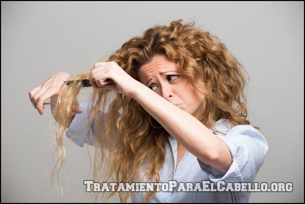 Naranja para el cabello maltratado