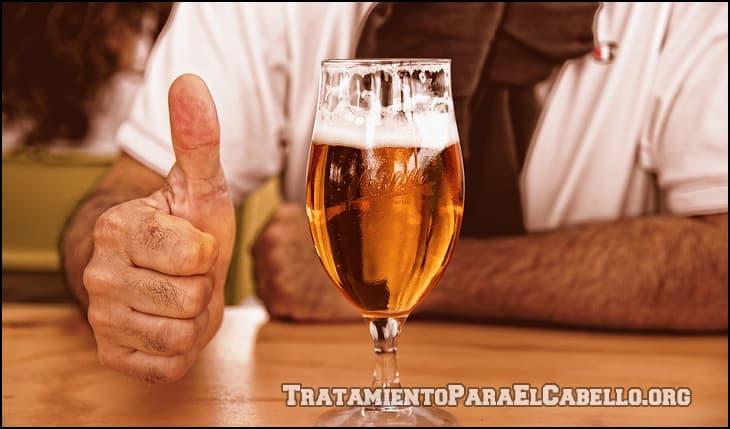 Para qué sirve la cerveza en el pelo