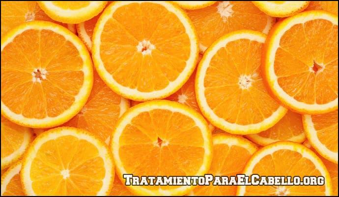 Para qué sirve la naranja para el cabello