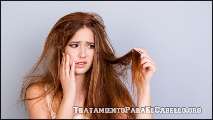 Tratamiento para el cabello seco con papaya