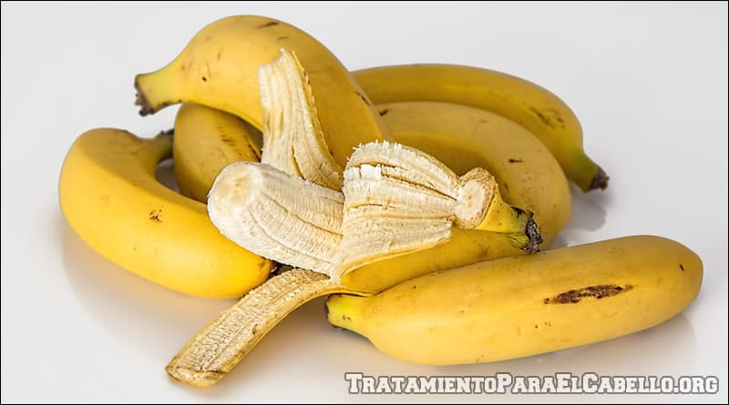 mascarilla de banana para el cabello