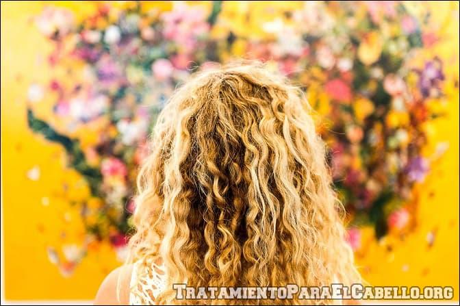 Pepino para mantener el cabello rizado