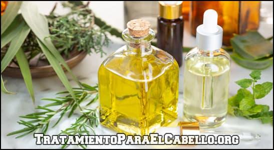 como utilizar aceite de menta y aceite de romero para el cabello