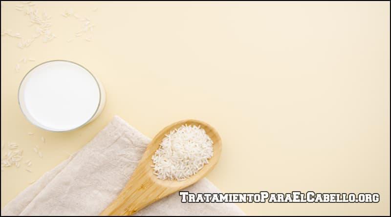 Como usar el agua de arroz para el cabello