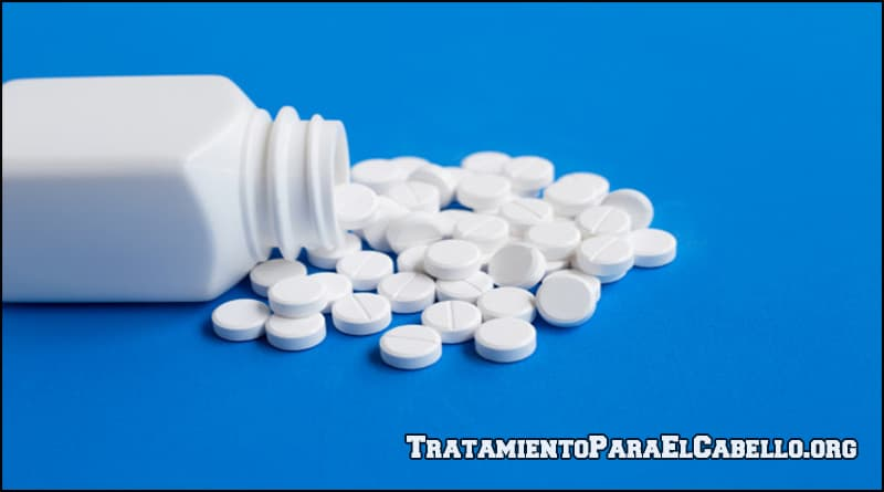 Aspirina en el cabello