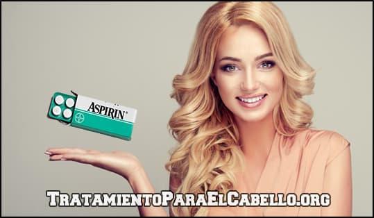 Beneficios y propiedades de la aspirina para el cabello