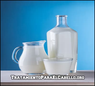 Para que se utiliza la leche para el cabello