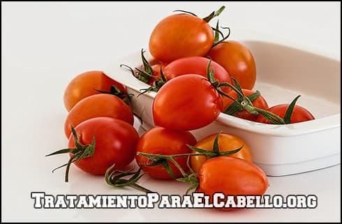 tratamiento de limon y tomate para el cabello graso