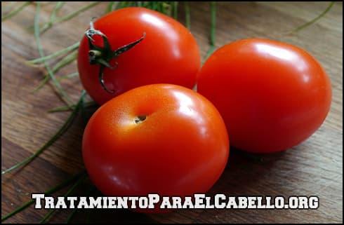 tratamiento de tomate para el cabello