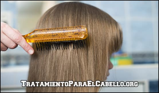 tratamiento de vinagre para controlar el cabello graso